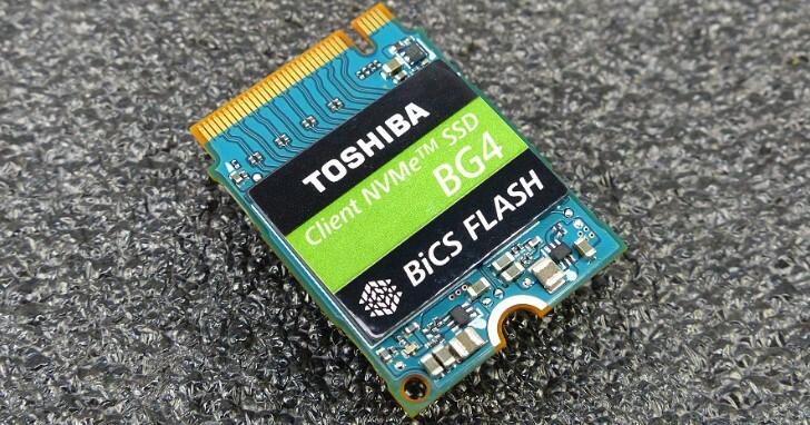 小體積大肚量!Toshiba Memory BG4 SSD 1TB 實測更有高價值應用環境表現