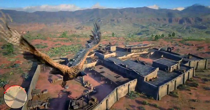 用模型替換Mod把主角換成遊戲中的鳥,在《碧血狂殺2》的世界裡翱翔