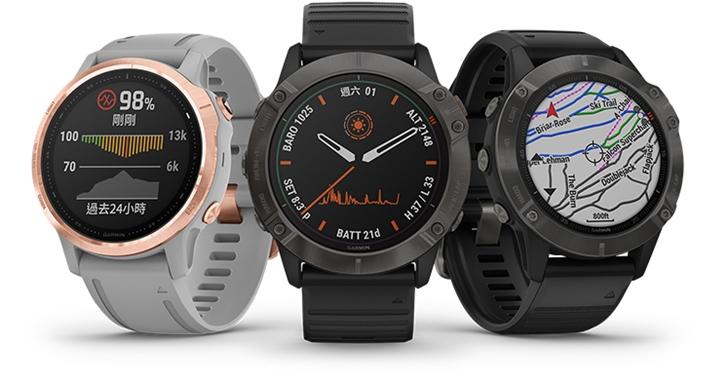 90 天超強續航智慧錶來了!Garmin 推出全新 fenix 6 進階複合式戶外GPS腕錶,售價 25,990 元起