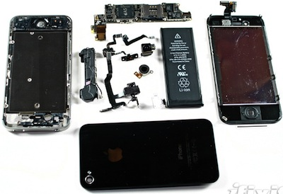 Apple iPhone 4S 拆光光,iFixit 再度出手