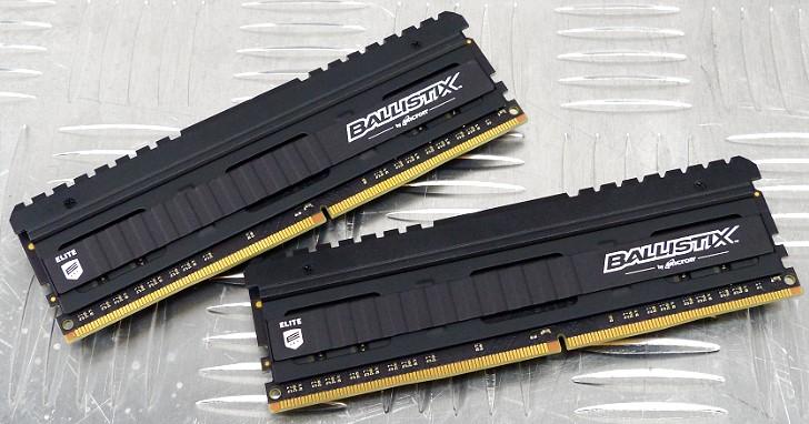 Micron E-die 再次發威,Ballistix Elite DDR4-4000 8GB x 2 16GB kit 雙通道套裝超頻實測