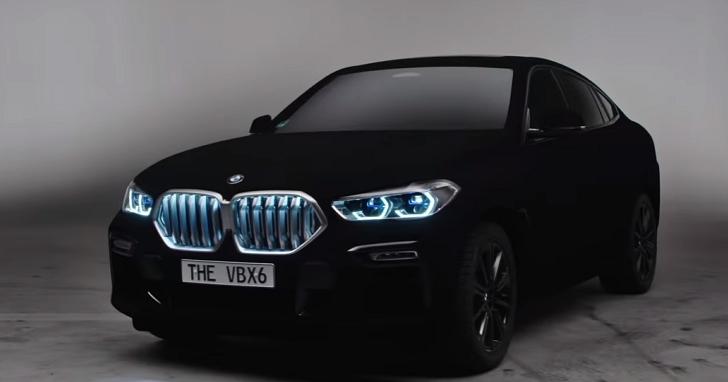 BMW X6在法蘭克福車展展出 「世界上最黑的黑」Vantablack 塗裝版