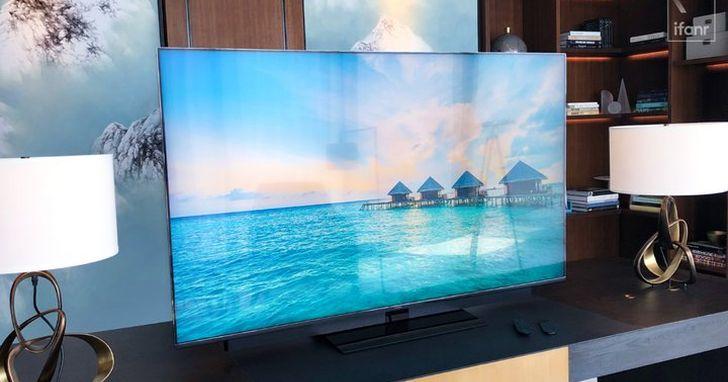 華為65吋「智慧螢幕」也有升降式鏡頭:你在看電視的時候、電視也在看你