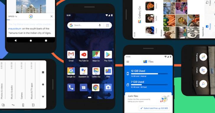 眾人皆肥我獨瘦,Android 10 Go維持輕巧優良傳統