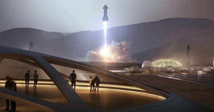 馬斯克公佈最新太空計畫,人類最強的星際飛船長這樣
