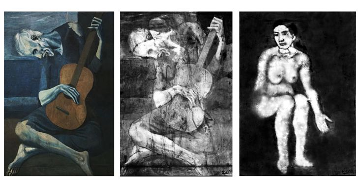 畢卡索隱藏千年的「畫中畫」,神經網路讓它重新面世