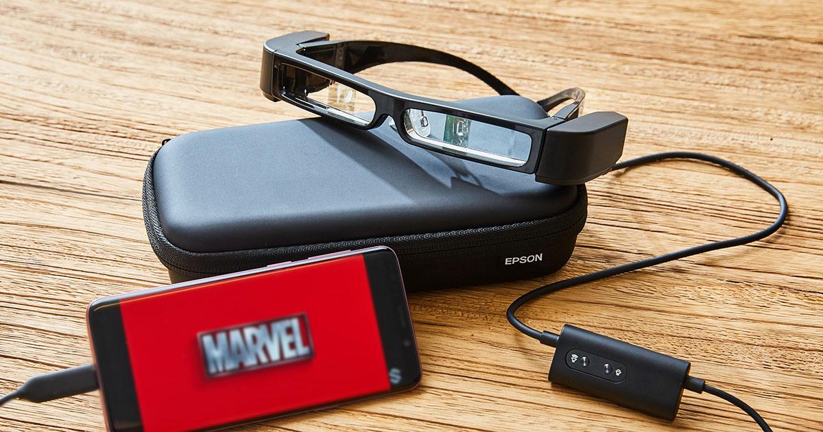 Epson 次視代智慧眼鏡 MOVERIO BT-30C 動手玩:享受隨時隨地不被打擾的觀影樂趣!