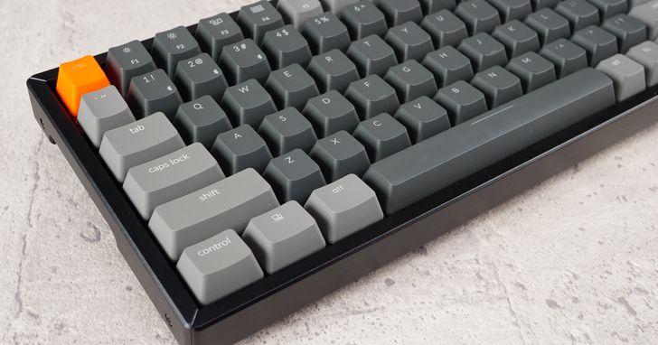精簡式無線機械鍵盤 Keychron K2 評測:外型典雅有古風、按鍵紮實手感足