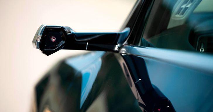 砍掉傳統汽車兩側後視鏡用攝影鏡頭取代,虛擬後視鏡正在崛起