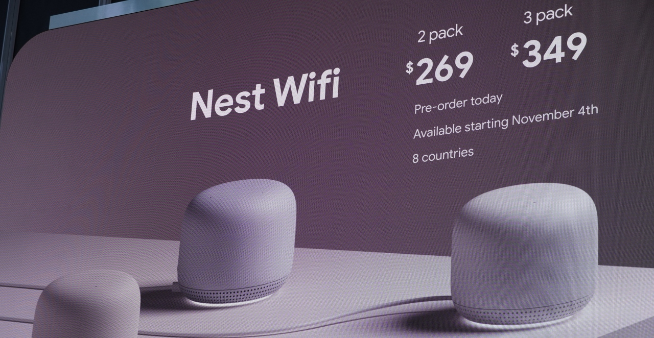 新一代路由器登場,Google Nest WiFi 美型又可當喇叭使用