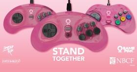 與Gamepink活動一同對抗乳癌,Retro-Bit與Limited Run Games共同發起粉紅色Sega控制器義賣