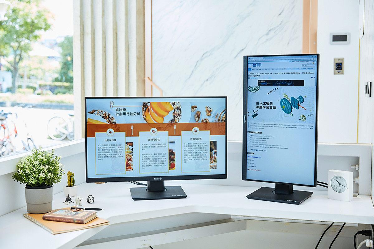 德國工藝,為完美體驗而生的電腦螢幕:TERRA LED 2463WPV 開箱評測!