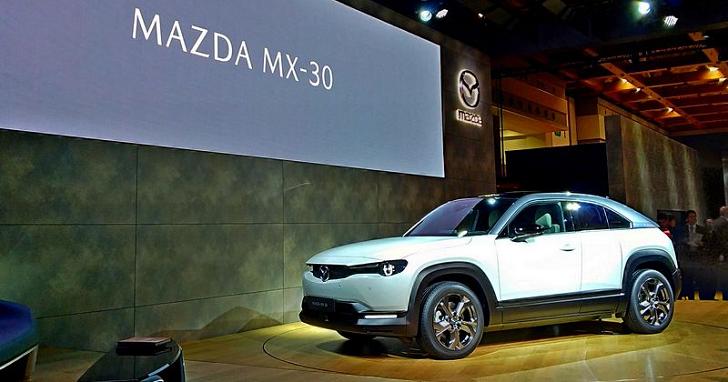 Mazda 首款量產電動車 MX-30 亮相,可能還有轉子引擎版本