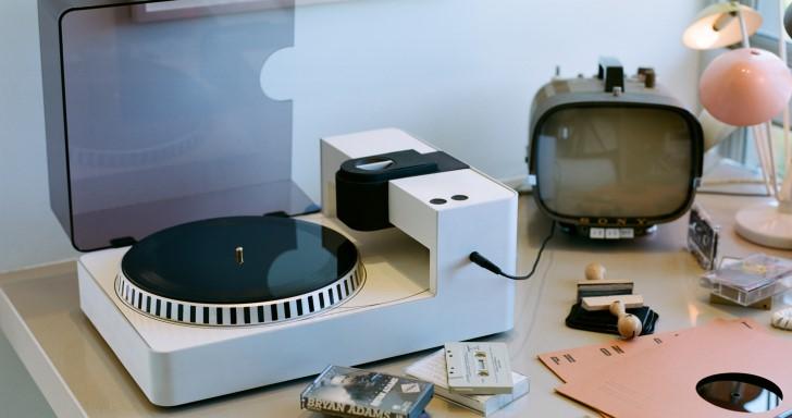 在家就能擁抱類比,Phonocut錄音機讓你親手錄製黑膠唱片
