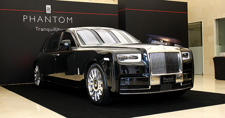 要價美金 170 萬!鑲嵌隕石的 Rolls-Royce Phantom Tranquillity,全球限量 25 台卻有一輛在台灣