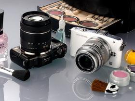 隨身小單眼:Olympus E-PM1 對決 Panasonic Lumix GF3
