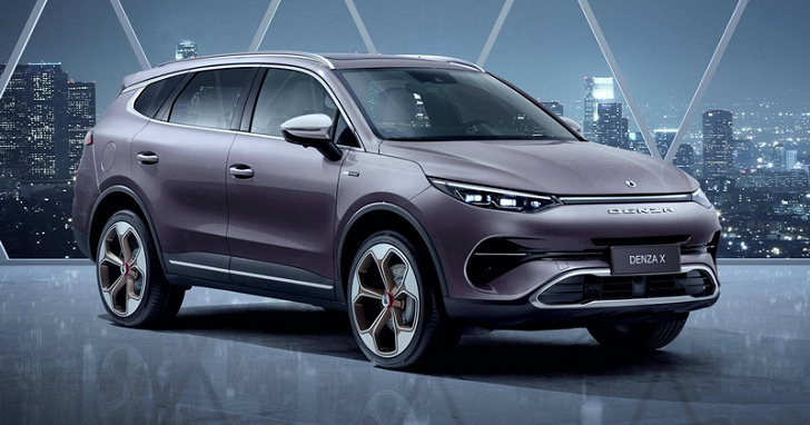 中國製電動車 Denza X 有「賓士風」,但它並不是山寨品