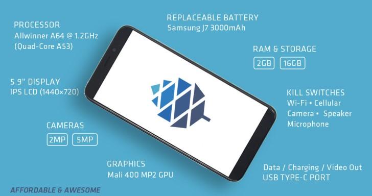 心臟夠大顆才能買!Pine64推出「勇敢之心」Linux手機,Pinephone早期測試版只要4,600元