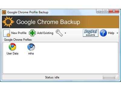 Google Chrome Backup:幫你備份不同時間點的 Chrome 資料