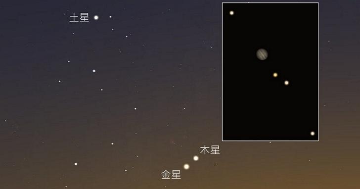 今天傍晚金星合木星,肉眼就可看到!下次再相遇要到2021年