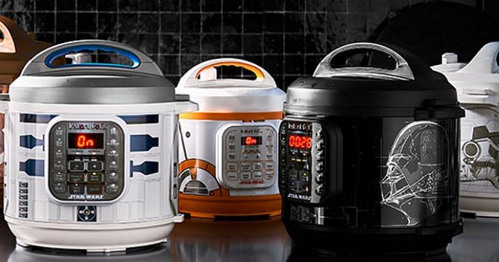 這廚房有批原力很純!美廠推出「星際大戰電鍋」、「風暴兵烤麵包機」、「千年鷹號煎餅機」