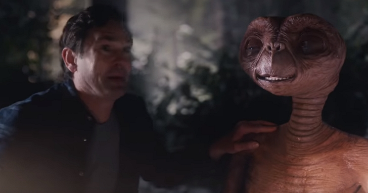 《E.T. 外星人》電影37年後,終於找了原主角拍了一部短片讓主角與E.T. 再相聚