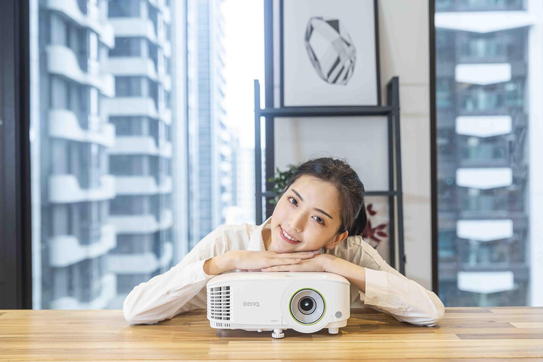 BenQ EH600 智慧商務投影機,高亮度、無線投影,提升會議效率,強化工作表現
