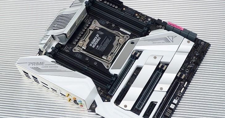 Asus Prime X299 Edition 30 主機板評測,X299 晶片組與 30 週年迸出 Smart Control Console 火花