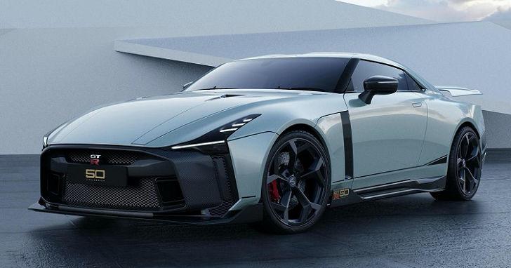 終極版東瀛戰神,Nissan GT-R50 限量 50 台