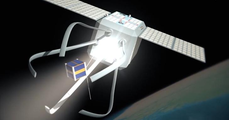 ESA的太空拖車任務將清除環繞地球的報廢衛星