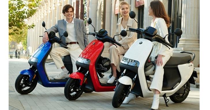 小米旗下Ninebot發佈五款電動摩托車,最平價版極速每小時55公里、續航力100公里,約台幣25800元