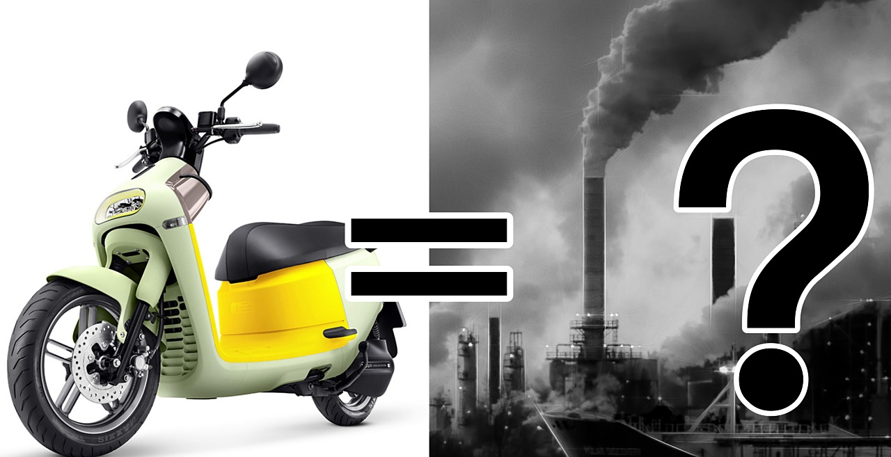 如果把全台機車都換成電動車,發電廠要多燒多少煤?空汙會更嚴重嗎?