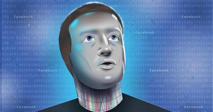 面對不接受採訪的祖克伯,媒體用AI做了個「祖克伯機器人」讓他接受採訪