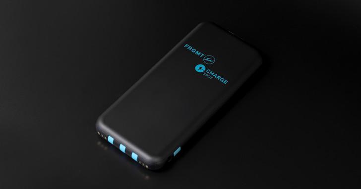 ChargeSPOT聯手日本潮流教父「藤原浩」,限量推出1000顆行動電源