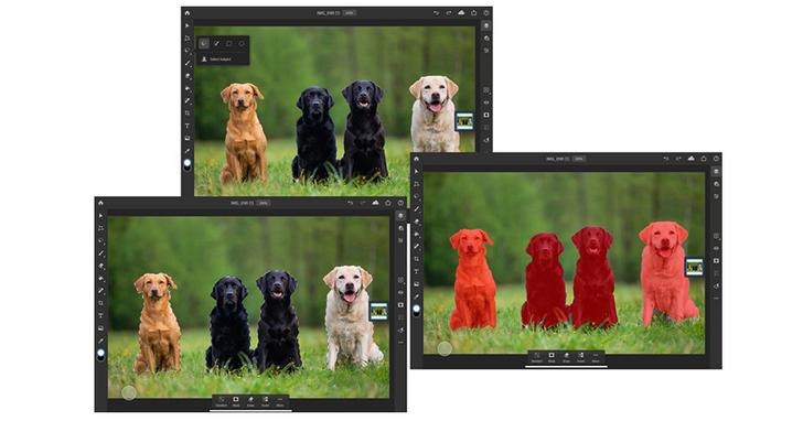 Adobe Photoshop on iPad新增「選取主體」功能