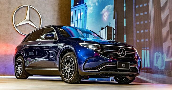 特斯拉勁敵來了!賓士首部量產電動車EQC在台開賣,性能、充電優惠一次看