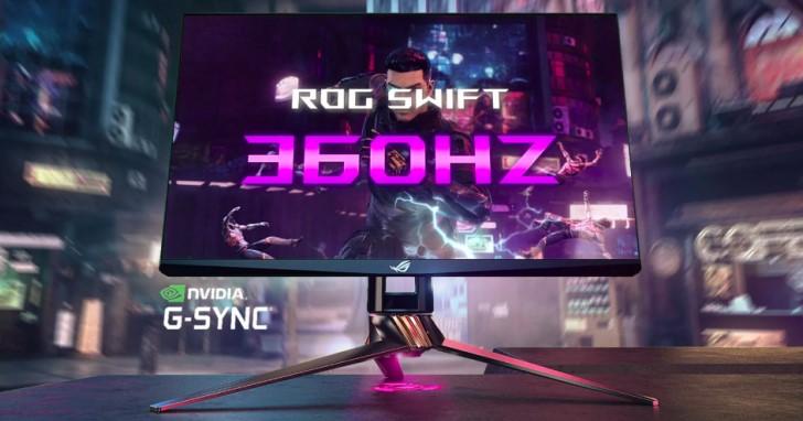 CES 2020:Asus 與 NVIDIA 聯合發表 360Hz 更新率電競螢幕 ROG Swift 360