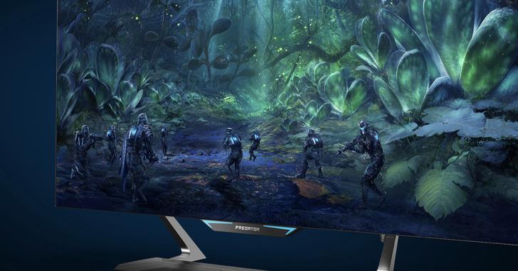 宏碁推出三款全新Predator電競螢幕,超大螢幕打造寬廣視覺體驗