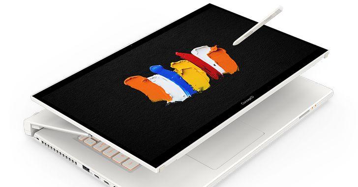 宏碁推全新ConceptD 7 Ezel可翻轉筆電及ConceptD 700專業工作站