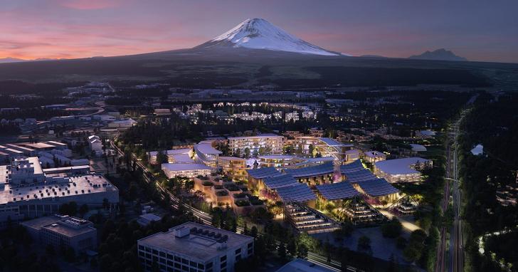 豐田章男的夢想之地,TOYOTA 將在富士山腳下,蓋一座全智慧化的「未來城市」
