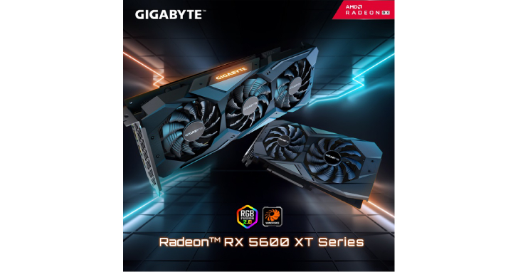 技嘉發布Radeon™ RX 5600 XT遊戲顯示卡