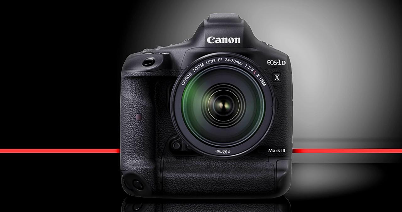 新機皇誕生!Canon發表EOS 1DX Mark III,具備20fps連拍與5.5K錄影