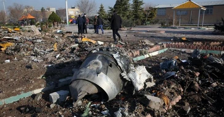 伊朗官方承認,「非故意」將烏克蘭客機擊落導致176人全數罹難