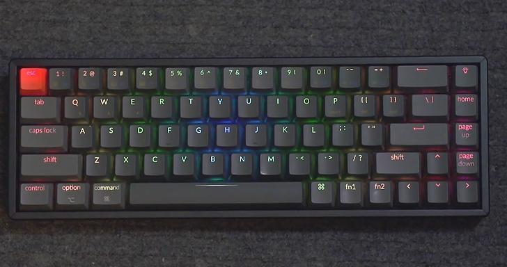 搭載2組Fn鍵,Keychron K6 65%迷你無線鍵盤也有完整多媒體功能