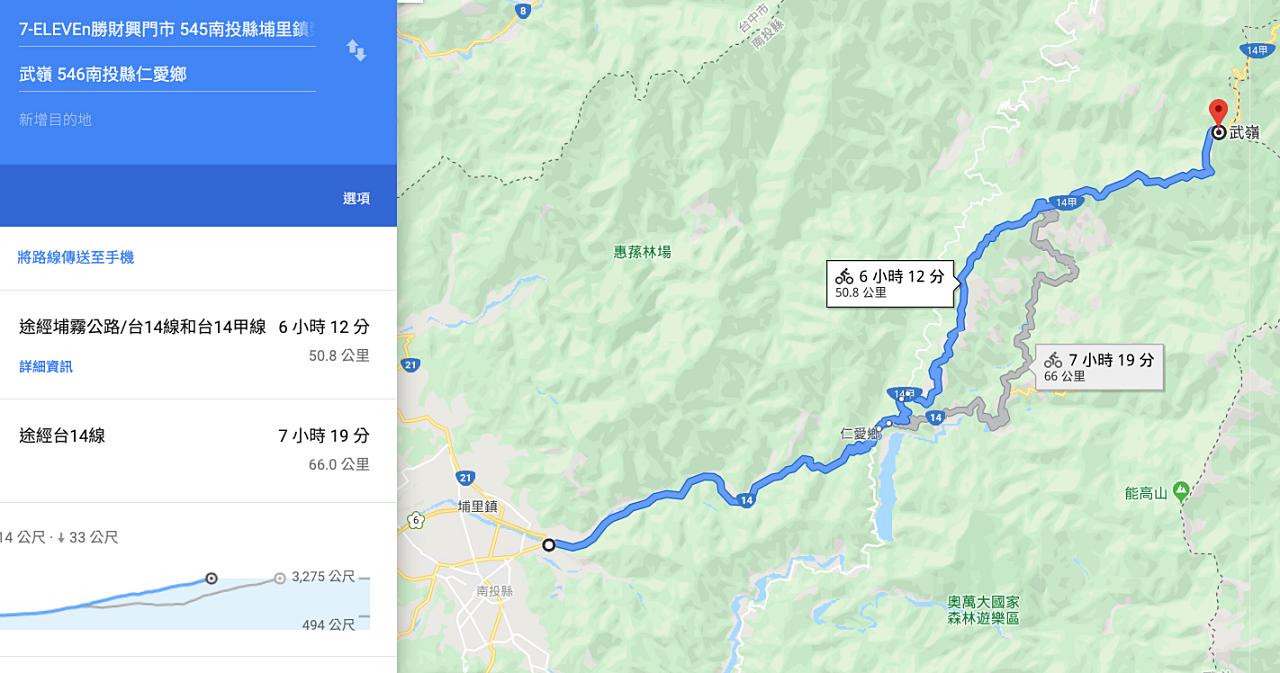 Google Map 單車導航模式有多好用?不只有單車道,還支援坡度海拔