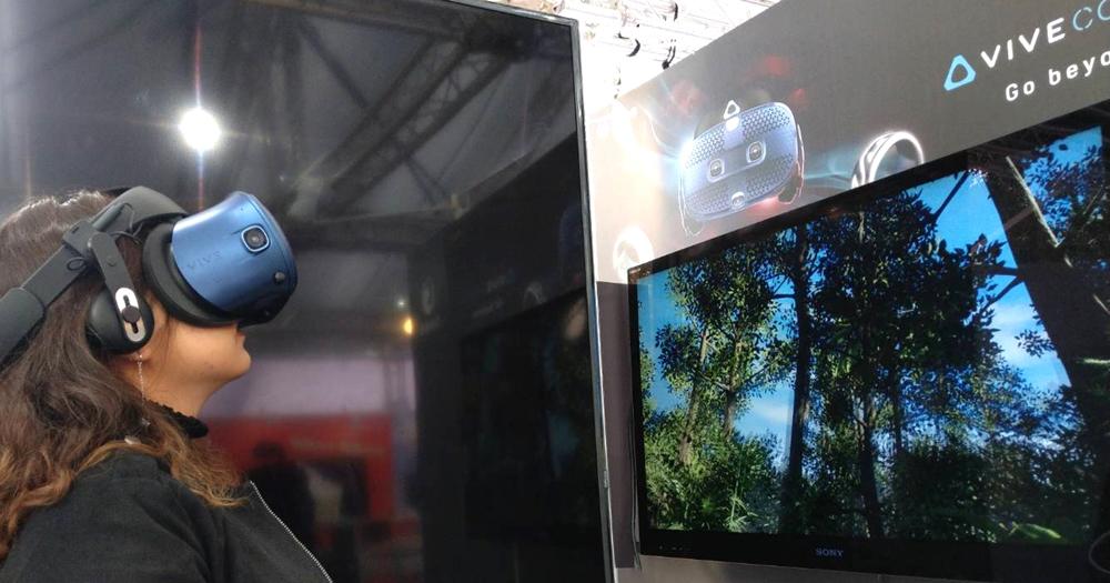 HTC 在台中燈會展出 VIVE 遊戲,在台中指定門市買手機送加碼禮