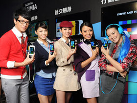 NOKIA Windows Phone 來了!LUMIA 800、710 在台上市