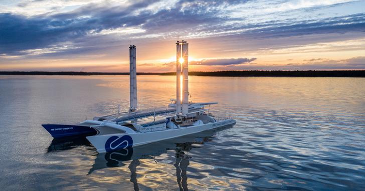TOYOTA 跟你談大海,他們把氫燃料電池技術用在船舶上,目標七天環繞地球