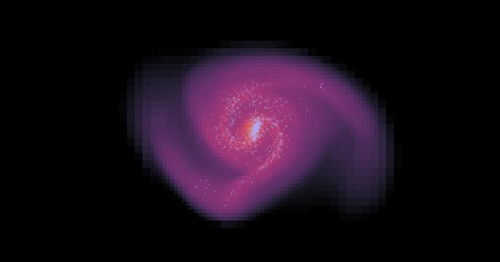 首次在「不加入暗物質的條件下」成功模擬星系誕生