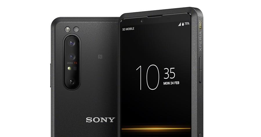Sony Xperia PRO 官方自曝!具備 micro HDMI 孔、手機也可當監看螢幕用